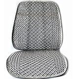 YZ-YUAN Auto Sitzkissen, Autositzpolster Mit Eis Seide Auto Seat Protector Für Kinder Und Baby Autos Sitze,Gray