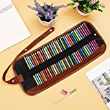 #8: Climberty Colored Pencils Premier Color Pencil Set With 36 Colouring Pencils, Sharpener, Extended Pen, and Canvas Pencil Bag for Kids and Adult Coloring Book,Ideal for Christmas Gifts