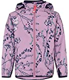 Racoon Mädchen Jacke Flora Softshelljacke Wassersäule 5.000, Mehrfarbig (Lavender Lav), 104