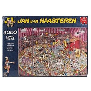 Jumbo 01499 - Jan van Haasteren - Im Zirkus - 3000 Teile