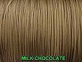 9,1m: 1,6mm chocolat au lait Lift Cord | romain/abat-jour plissé et stores