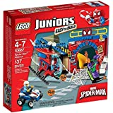 LEGO Juniors - 10687 - Jeu De Construction - La Cachette De Spider-man