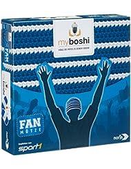 Noris Spiele 606311347 - My Boshi, Fan Mütze in den Vereinsfarben blau-weiß