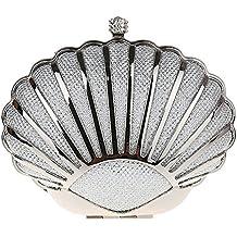 Genda 2Archer Mini bolso Hermoso del Fiesta de Tarde del Seashell Bolso del Embrague de las Mujeres