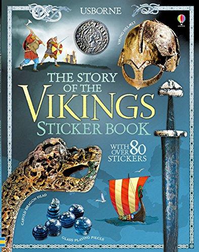 The Story of the Vikings Sticker Book par Megan Cullis