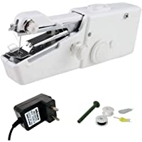 Akiara - Makes life easy Electric Handy Sewing/Stitch Handheld Cordless Portable White Sewing Machine for Home Tailoring…