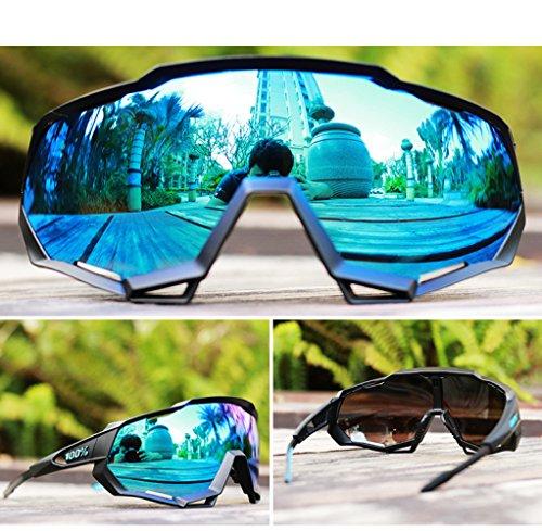 TianXY Outdoor Radfahren Laufen Mode Sonnenbrille Durable Frame Running-Brille Baseball-Brille Polar Bewegung,A