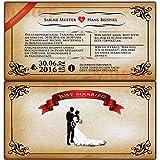 Vintage Einladungskarten Hochzeit Hochzeitseinladungen Einladung Trauung - 40 Stück