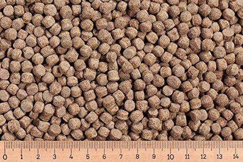 (Grundpreis 2,15 Euro/kg) - 15 kg Premium Koifutter Pond Pellet 6,0 mm 30/5 schwimmend Cypriniden -