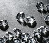 2000 petits cristaux en forme de diamants 12mm pour les décoration de table Mariage Décoration De Table À Saupoudrer Cristaux,Diamants