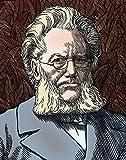 Science Source – Henrik Ibsen Norwegian Playwright Kunstdruck (45,72 x 60,96 cm)