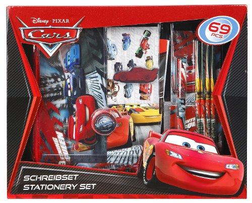 Undercover CA12112 - Schreibbox Disney Cars, 69-teilig
