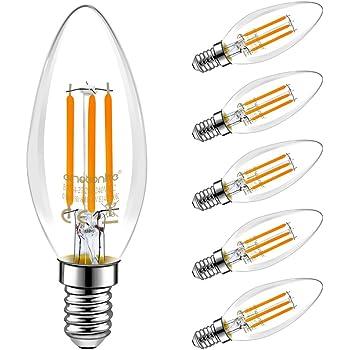 emotionlite e14 led bulbs led filament light bulbs 4w 40w equivalent e14 candelabra base. Black Bedroom Furniture Sets. Home Design Ideas