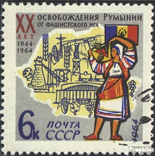 Prophila Collection Sowjetunion 2921 (kompl.Ausg.) 1964 Befreiung Rumäniens (Briefmarken für Sammler) Militär