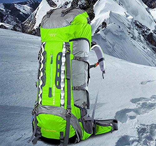 ROBAG Borse all'ingrosso interurbano trekking campeggio viaggio zaino arrampicata , blue tender green