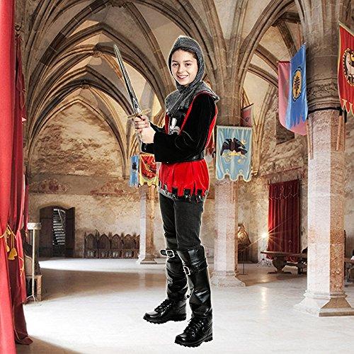Kostümplanet® Ritter Kostüm Kinderkostüm Ritter Größe 116 - 6