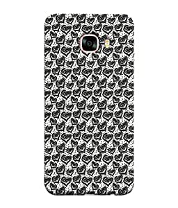 PrintVisa Designer Back Case Cover for Samsung Galaxy C5 SM-C5000 (Listen to my heart Your in my heart)