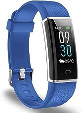 AUSUN Fitness Tracker, 130 Plus Color Activity Tracker IP68 Impermeabile Orologio Fitness