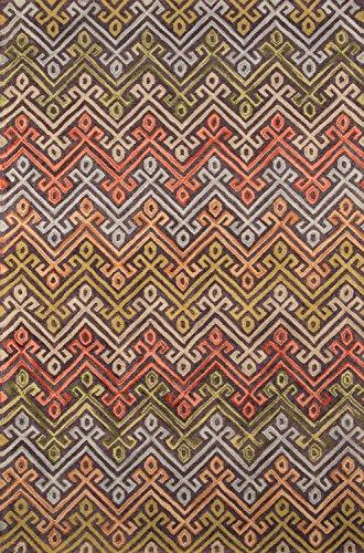 momeni Teppiche tangitan20mti2030Tanger Collection, 100% Wolle Handgetuftet Spitze geschoren übergangsgebiet Teppich, 2'x 3', Multicolor
