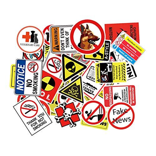 SOOKi Vinyl Stickers [50pcs], Adesivo per Laptop PC PC Bottiglia d'Acqua Casco da Skate Skateboard Bagaglio Bike Paraurti Impermeabile Graffiti Decalcomanie, Regalo per Bamb