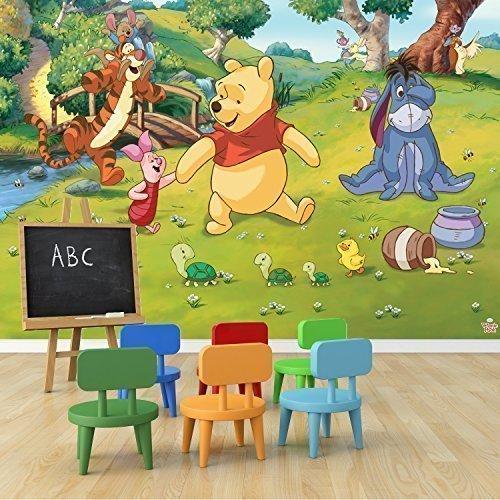 walltastic-disney-winnie-the-pooh-kunstdruck-aufkleber-tapete-vinyl-mehrfarbig-304-x-243-cm