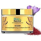 Blue Nectar Ayurvedic Kumkumadi Brightening & Radiance Face Scrub with Kumkumadi Tailam (50g, 16 Herbs)