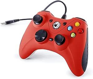 Nacon Controller di Gioco, Rosso - PC