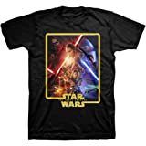 Star Wars The Force Awakens - Póster para adulto (Black