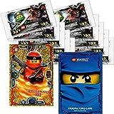 LEGO Ninjago Trading Card Game Serie 3: 10 Packungen a 5 Karten + Limitierte Bonus Karte LE2 Spinjitzu Meister Kai