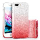 ESR Coque pour iPhone 8 Plus, Coque Silicone Paillette Strass Brillante Glitter de...