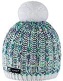 MFAZ Morefaz Ltd Wintermütze Mädchen Mütze Kinder Jungen 1-4 Jahre Jugendliche Wurm Hat Fleece (White)