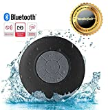 #5: Wonderford High Quality Water Resistant Bluetooth 3.0 Shower Speaker With Handsfree Portable Speakerphone & Built-in Mic, Control Buttons and Dedicated Suction Cup Compatible With Xiaomi Mi, Apple iPhone & iPad, Samsung, Sony, Lenovo, Oppo, Vivo and All Smartphones (1 Year Warranty, Assorted Colour)