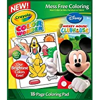 Crayola Color Wonder Coloring Book Mickey 18P – Books and Colouring Pages (Book/Album, Boy/Girl, Disney Mickey, Micky Mouse, Minnie Mouse, Goofy)