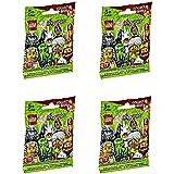 Lego Minifigures Series 13 - 4 Random Pack Set