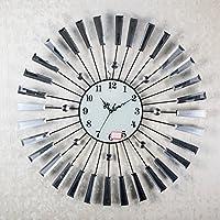 ACCURATE Creative semplice ferro battuto orologio da
