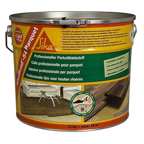 Sika 421469sikabond-54spatulable Kleber Polyurethan für Parkett 13kg - Polyurethan-holz-böden