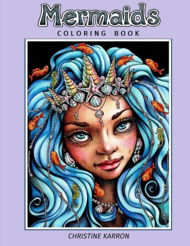 Mermaids: Coloring Book