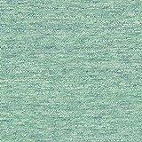 Fabulous Fabrics Sommersweat Melange grün — Meterware ab