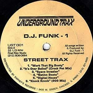 DJ Funk - Street Trax - Underground Trax - UGT 001