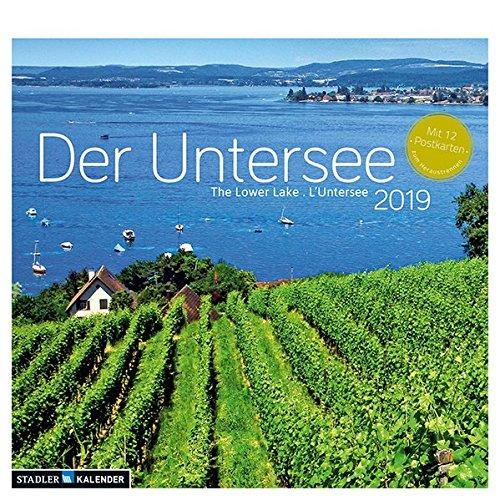 Der Untersee 2019: Postkarten-Tischkalender