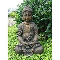 STATUA DI BUDDHA 70CM BUDDHA FIGURA BUDDHA STATUE STATUA DI BUDDHA PER IL GIARDINO E PER INTERNI FENG SHUI NUOVO