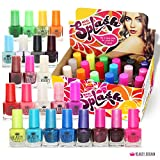Splash 24 x Nagellack Set 24 Verschiedene Moderne Farben Schnell Trocknend