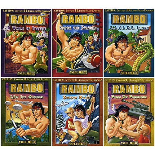 Rambo: Complete Animated TV Series DVD Collection (All 65 Episodes!)