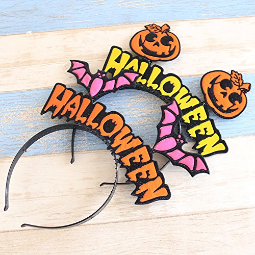 PRIMI Halloween Party Dressing Supplies Creative Cute Cartoon Kopfband (Kürbis) (Halloween Kopfbügel)