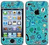 Upper Coque 3D iPhone 4/4S Ben Comic Turquoise