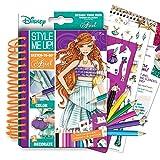 Style Me Up. Sketch-to-go–Ariel avec pochoirs, Stickers et Pensils...