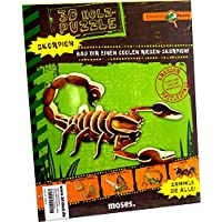 Moses 9687 Expedition Natur 3D-Holzpuzzle Skorpion