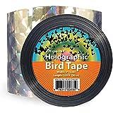 Ruban double face Repulsif Oiseaux holographique brillant pour effrayer les Oiseaux 5,1 cm x 30 m Effaroucheur d' Oiseaux Anti Oiseaux Bande Anti-Oiseaux
