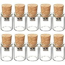 10 Piezas 3D Botella de Vidrio Memoria USB de 8GB Regalo de Bodas
