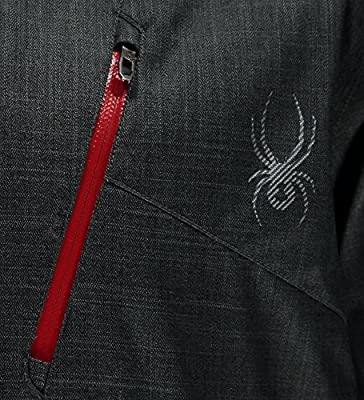 Spyder Snow Jackets - Spyder Chamber Snow Jacket - Black/Red